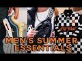 MEN'S SUMMER STREETWEAR ESSENTIALS 2018