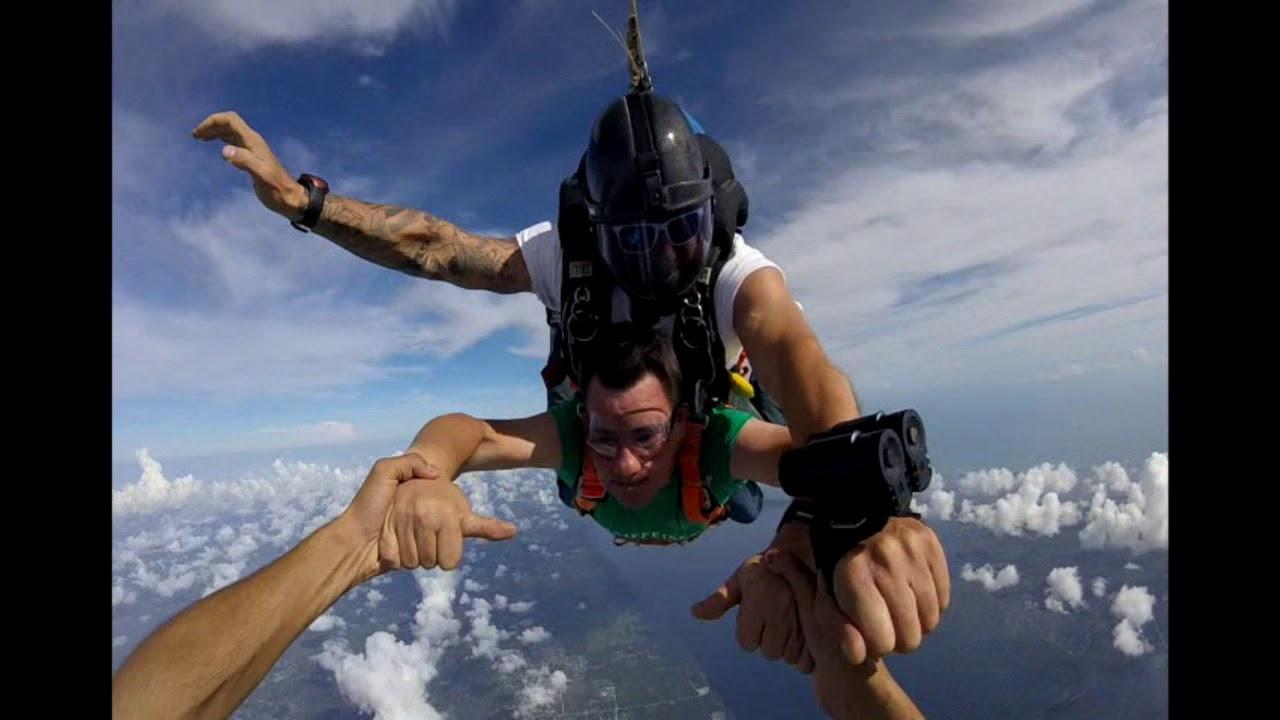 saut en parachute 18000 pieds