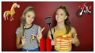 Pancake Art Challenge! | The Rybka Twins