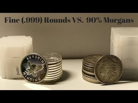 Fine Rounds Vs. Morgan Dollars (Same Price But Which Is A Better Value)