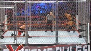 WWE Extreme Rules 2013 : Triple H vs Brock Lesnar Steel Cage Match