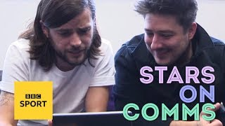 Mumford & Sons try football commentary - BBC Sport