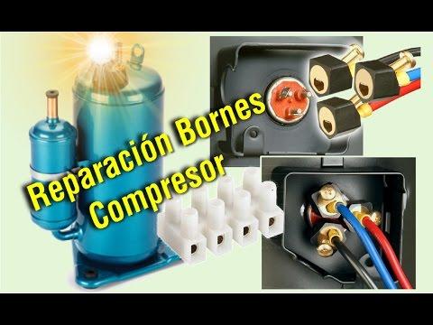 Bornes de compresor - Reparación - Aire Acondicionado 💥💥💥
