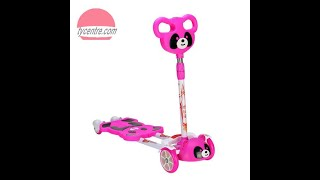 SS4151, Four wheel kid scooter with panda design