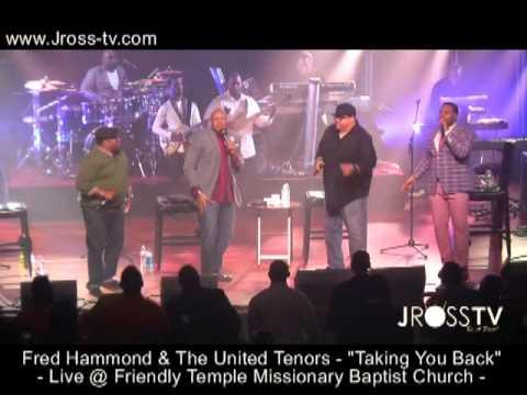 James Ross @ Fred Hammond United Tenors @ Friendly Temple (Old School Groove) - www.Jross-tv.com