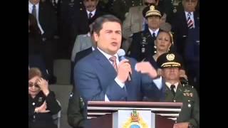 Presidente: Policía Militar debe ser elevada a rango constitucional
