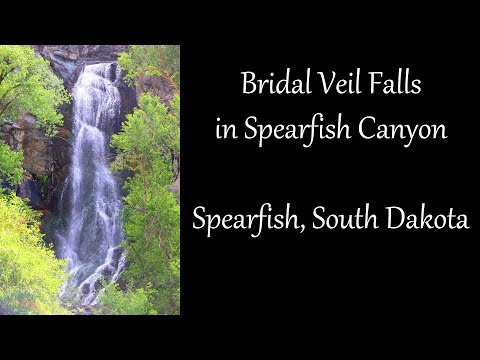 Bridal Veil Falls In Spearfish Canyon | Spearfish, SD