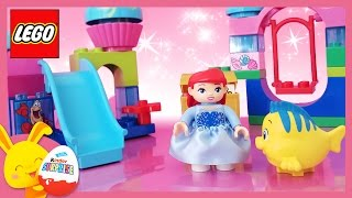 LEGO Duplo - Ariel, la petite sirène - Le toboggan et la balançoire - Princesses Disney - titounis
