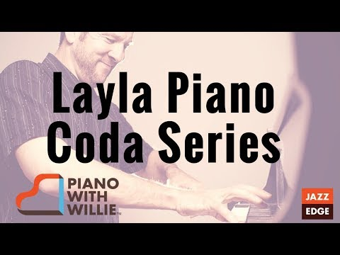 Layla Piano Coda Series - Part 1 - Piano Tutorial by JAZZEDGE
