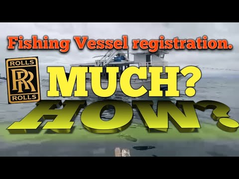 #fishingtalksphilippines Fishing Vessel Registration How much will it cost?