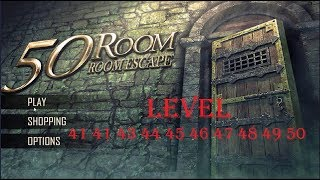 Can You Escape The 100 Rooms X level 41 42 43 44 45 46 7 48 49 50