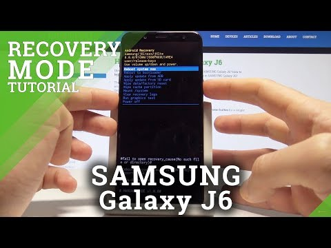 How To Enter Recovery Mode In SAMSUNG Galaxy J6 - Android System Recovery