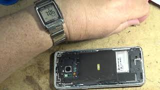 Samsung Galaxy S8 Battery Failure and replacement from donor phone