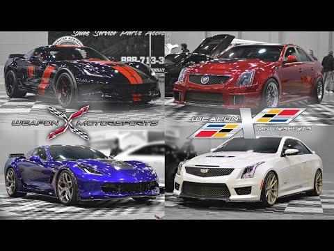 Cavalcade Of Customs >> Corvette Stingray 427 & Z06, Cadillac CTS-V 1600HP & ATS-V ...