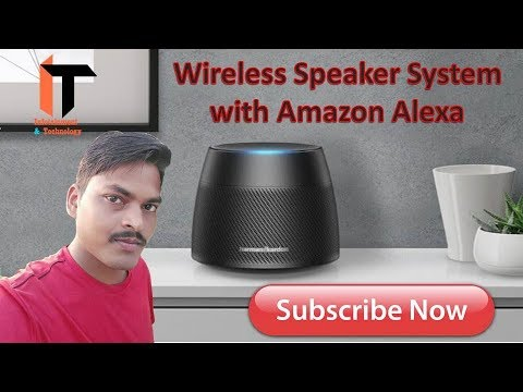 40ea4d4886f39e Harman Kardon Allure Wireless Speaker System with Amazon Alexa (Black)