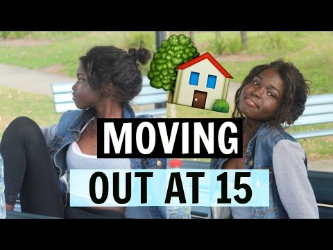 I MOVED OUT AT 15! | Why I Moved? & How The Process Was Like | Nya Johnson