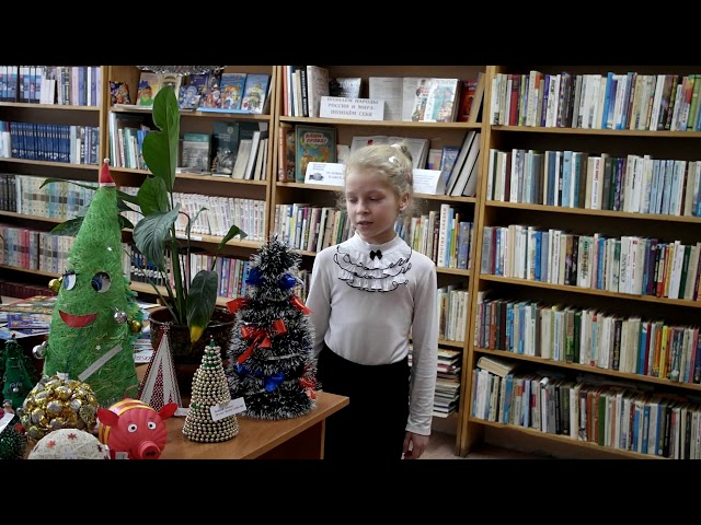 Изображение предпросмотра прочтения – ДианаМихаленко читает произведение «Творите добро» Т.Черненко
