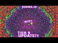 ZOMBS.IO NEW TIER 9 BASE UPDATE!? NEW UNBEATABLE CIRCLE BASE  in ZOMBS.IO LeeZY iXPLODE ZOMBS.IO