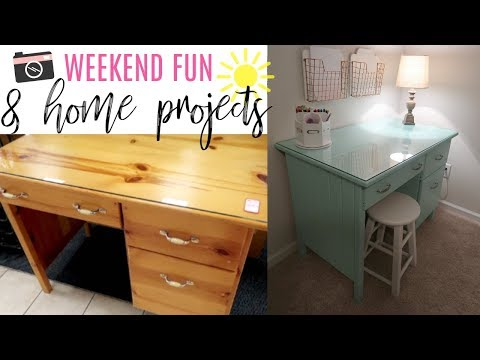VLOG | Weekend Family Fun & Home Projects | Cook Clean And Repeat