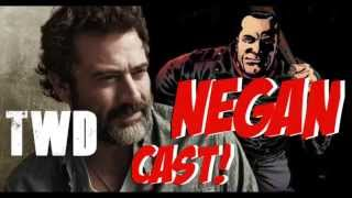 NEGAN IS CAST! Jeffrey Dean Morgan To Play Negan On The Walking Dead