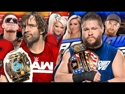 26 Wrestlers Who Were Drafted On WWE Superstar Shake-Up 2017