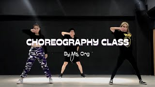 Urban Choreography Special Class by Evo Dance School [Choreography by ONG]
