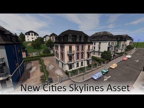 [Cities Skylines Asset] European Cube Houses