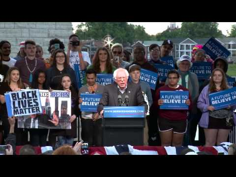 We are the Future of America and of the Democratic Party | Bernie Sanders