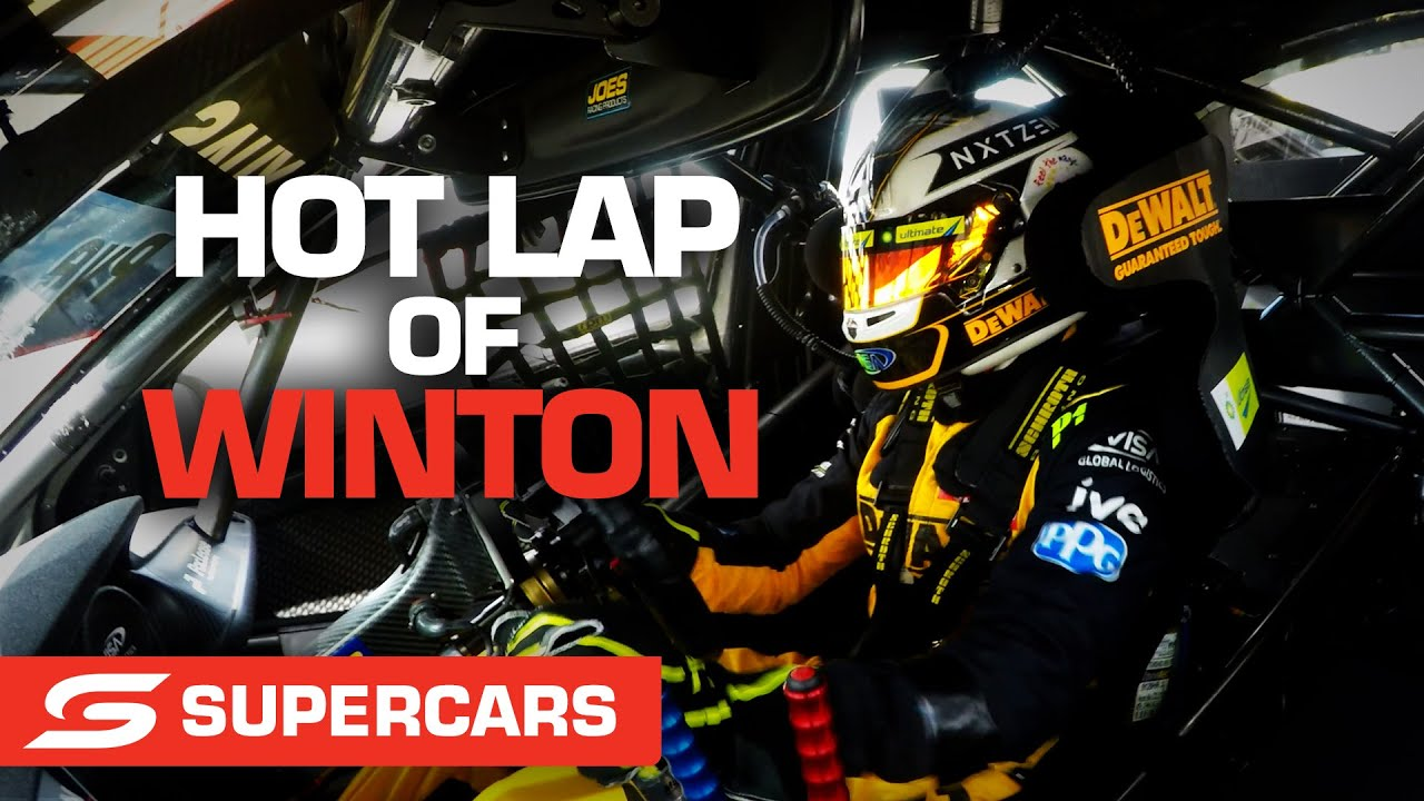 Onboard: A hot Winton lap with Scott Pye   Supercars 2021