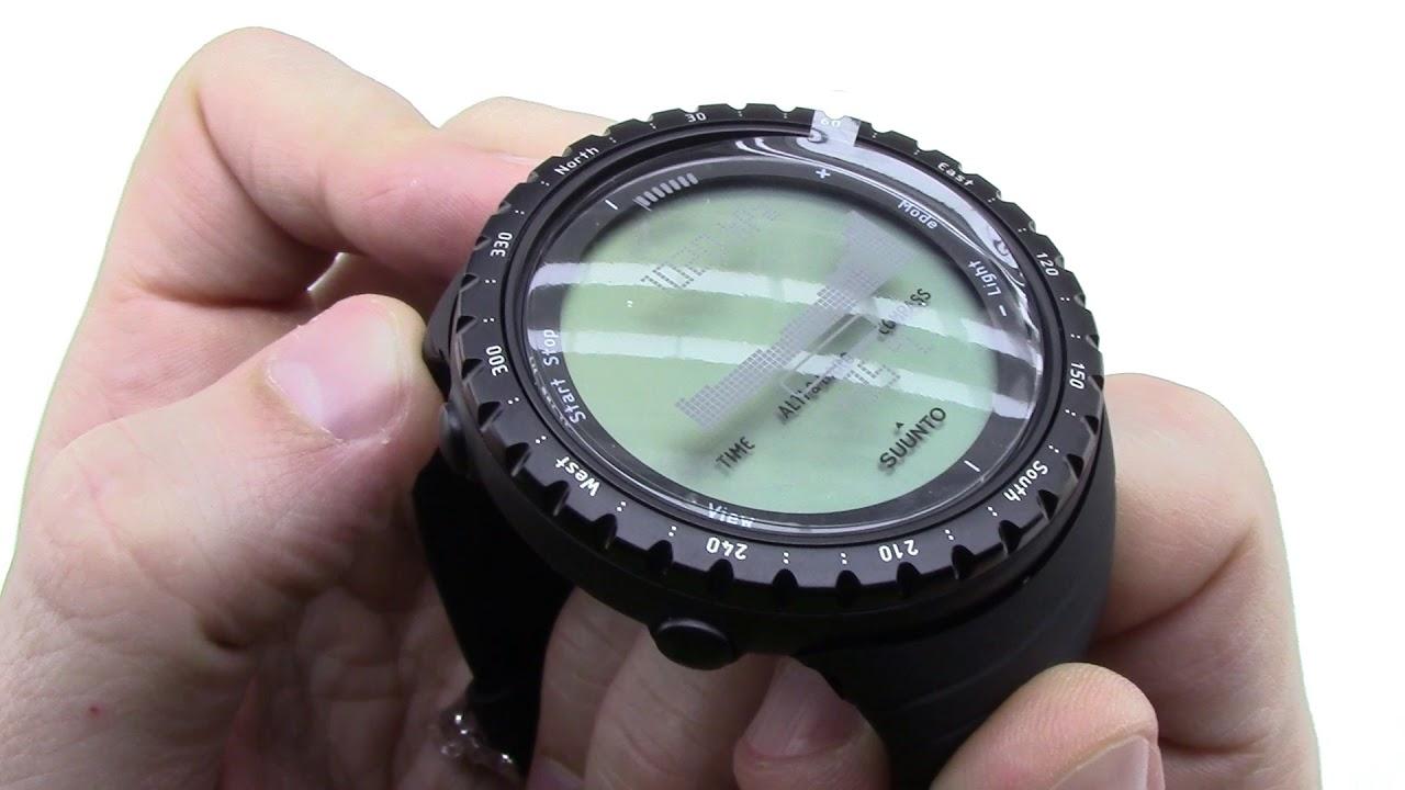 Suunto Core Regular Black Unboxing Hd Ss014809000 Youtube Outdoor Watch Digital