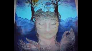 Meditation ( Canvas oil painting ) Медитация ( Рисуем Маслом )