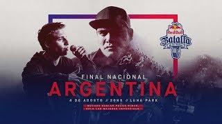 Final Nacional Argentina 2018 - Red Bull Batalla de los Gallos