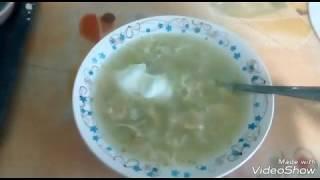 Куриный суп Затируха//Пища для бедных//Обед за 1 доллар//Готовим в кризис//