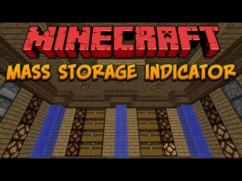 Minecraft: Mass Storage Indicator