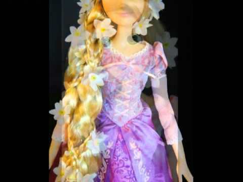 tangled rapunzel doll 17 and 12 from disney store youtube. Black Bedroom Furniture Sets. Home Design Ideas