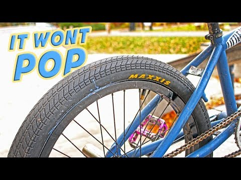 THE TUBELESS BMX TIRE IN ACTION!