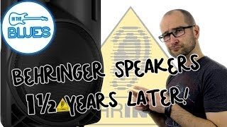 (1½ Years Later) Behringer 215D, 212D Active Speakers Review