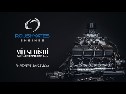 Roush Yates Engines and Mitsubishi Materials Partnership