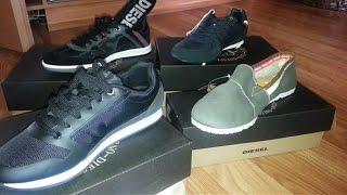 Обзор обуви DIESEL кроссовки, мокасины, бутсы