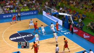Highlights Slovenia-Spain EuroBasket 2013