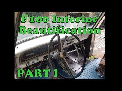 F100 Crown Vic Swap Dash Pad Removal - Interior Descuzzification Part 1
