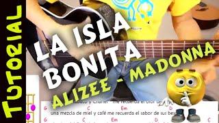 Como tocar LA ISLA BONITA en Guitarra