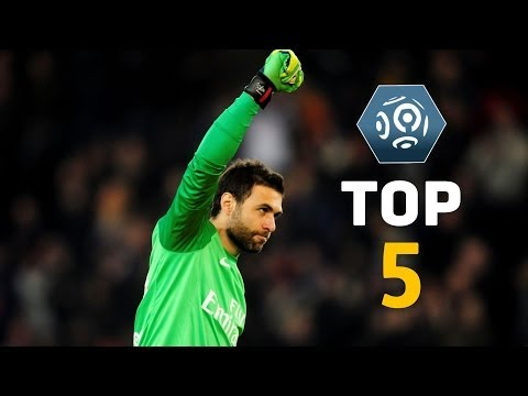 Salvatore Sirigu - Top 5 Saves - Ligue 1 / PSG