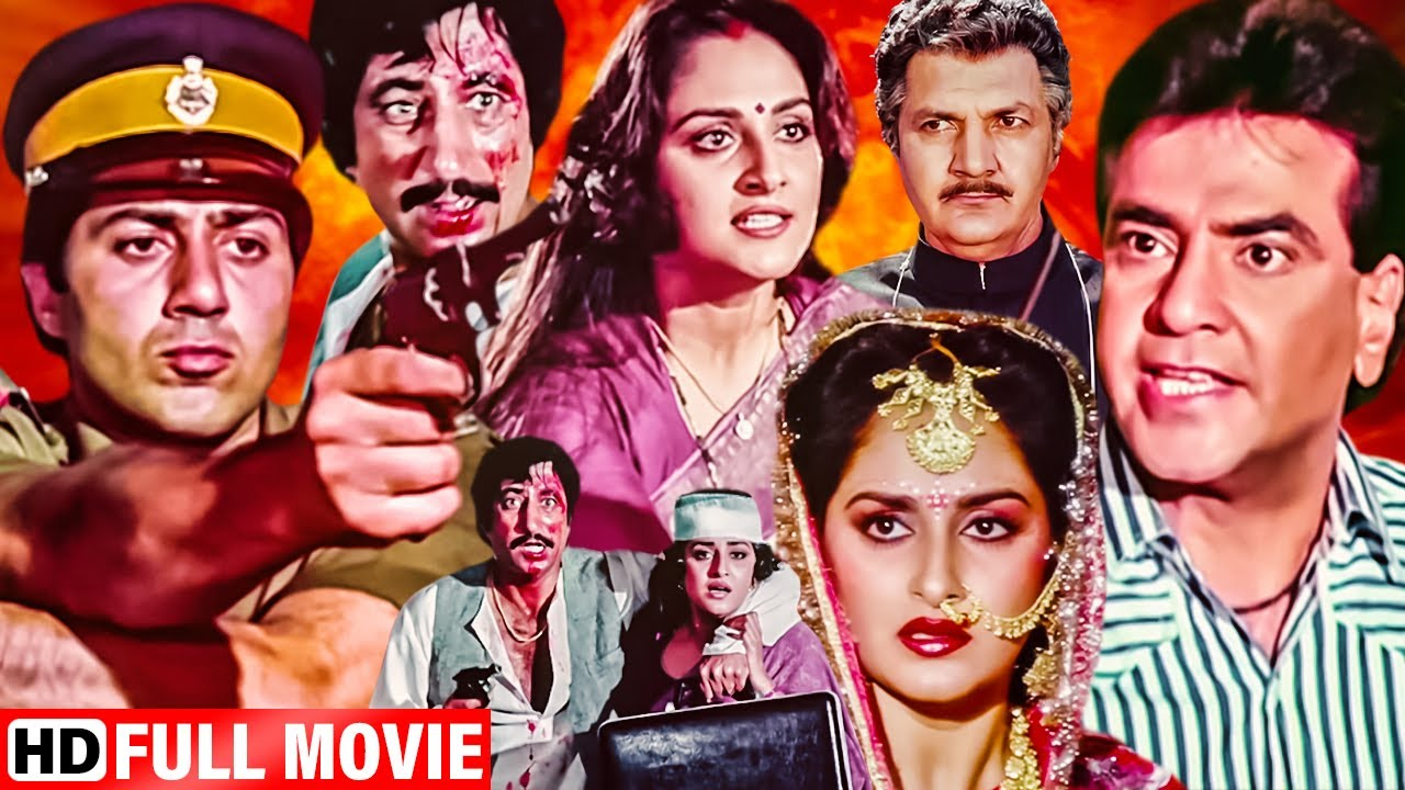 Download फ़र्ज़ और कानून की खतरनाक जंग Sunny Deol बॉलीवुड सुपरहीट एक्शन मूवी - Blockbuster Action Hindi Movie