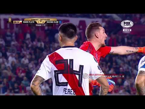 River Plate vs Racing Club (3-0) Copa Libertadores 2018 - 8tavos Vuelta - Resumen FULL HD