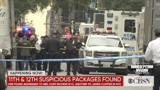 Package bomb suspect, Cesar Sayoc, arrested and charged with 5 federal crimes