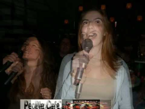 Karaoke party show στο People cafe bar (Πρωην Bonsai) 30-11-12
