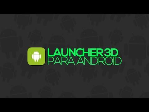 Launcher/tema 3D para Android (HD 3D Launcher)
