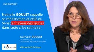 Nathalie Goulet soutient les jeunes et les étudiants