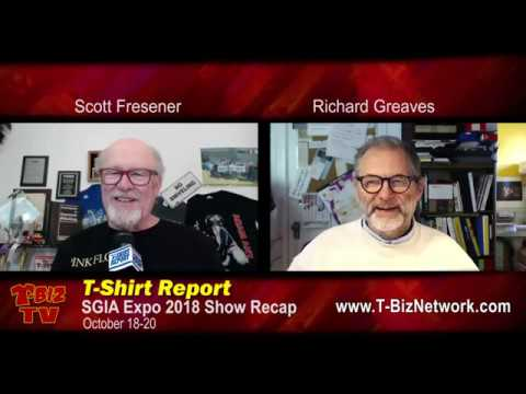 T-Shirt Report SGIA 2018 Show Review with Richard Greaves & Scott Fresener